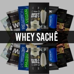 Sachê de Whey Protein