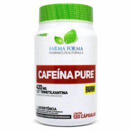 Cafeína Pure 420mg (120 Caps)