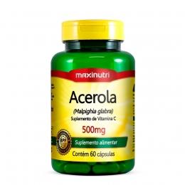 Acerola 500mg - Maxnutri