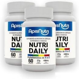 Nutri Daily Polivitamínico A-Z - 450mg - 3 unidades